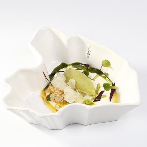 Nagerecht rauwe snijbonen met olijfolie