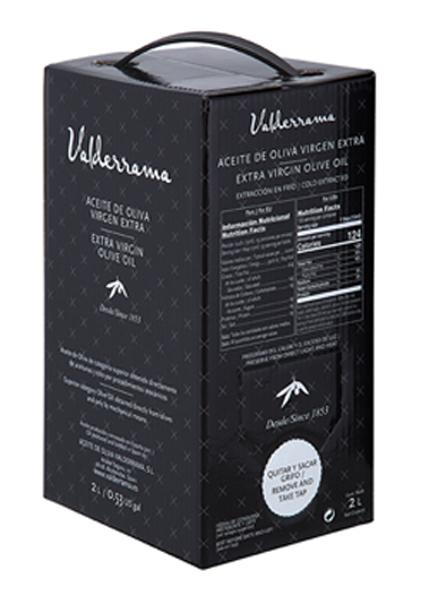 Hojiblanca van Valderrama Olijfolie 2 liter Bag in Box